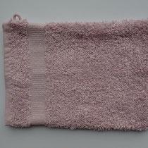 Washandje in 100% bio-katoen 580 g/m², 16 x 21 cm, roze, Cotonea