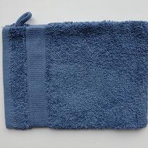 Washandje in 100% bio-katoen 580 g/m², 16 x 21 cm, azuurblauw, Cotonea