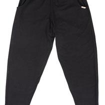 Lange broek in 92% bio-katoen met 8% elastaan tricot, zwart, Comazo Earth, beschikbaar in de maten 36; 38; 40; 42 en 44; prijs: 49,95 €
