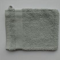 Washandje in 100% bio-katoen 580 g/m², 16 x 21 cm, maansteengrijs, Cotonea