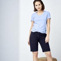 T-shirt Alexandra en bermuda Edda, Living Crafts