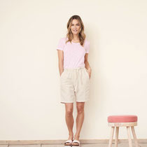 T-shirt Alexandra en bermuda Gaby, Living Crafts