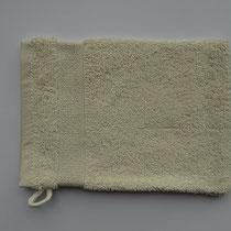 Washandje in 100% bio-katoen 580 g/m², 16 x 21 cm, naturel, Cotonea