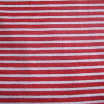 100% Baumwolle, rot-weiß