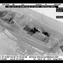 Джохар Царнаев снимок тепловизором