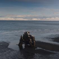 Hvitserkur, das Wahrzeichen der Halbinsel Vatnsnes