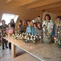 "Workshop mit ""Chamer Frauengruppe"" am 3. Okt. 2012"