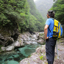 前鬼川・大峯山を源流とする美しい渓谷