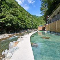 十津川村の温泉はすべて源泉かけ流し 極めて贅沢な極上の温泉です!
