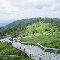 山全体が特別保護地区に指定
