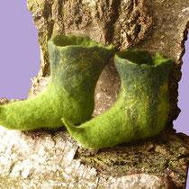 Filzstiefelchen für kleine Elfen