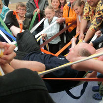 Sigmaringer Trainer lebt 3x hoch (Geburtstagüberraschung)