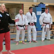 Trainerteam mit Jürgen Öchsner