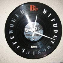 Schallplatte, schablonenbeschriftet