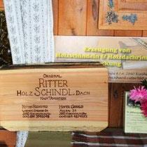 Waldburgangerhütte original Ritter Holz Schindl Dach nach Tradition