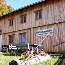 Waldburgangerhütte Bretterfassade