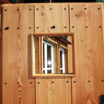Waldburgangerhütte Ritter Holz Türe