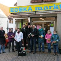 Ortsbeirat unterstütze EDEKA markt Hilgenberg (Foto: Ortsbeirat Hümme)