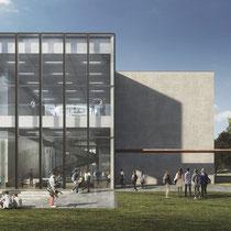 Nieuwbouw universiteit Tilburg. Werkzaamheden: bestek.