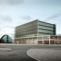 Uitbreiding van de bestaande RAI gebouwen. Werkzaamheden: bouwkundig bestek.