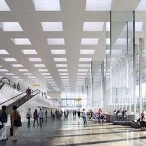 Nieuwbouw van Terminal A op Amsterdam Airport Schiphol. Werkzaamheden: bestek