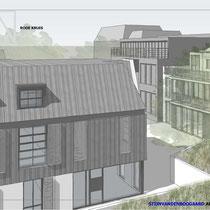 Nieuwbouw woningen en renovatie bestaande monument. Werkzaamheden: kostenbewaking en projectmanagement.