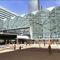 Renovatie Centraal Station Den Haag. Werkzaamheden: uitvoeringsbegeleiding en werkvoorbereiding