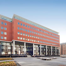 Nieuwbouw kantoor (10.000m2 BVO) aan Koningin Wilhelminaplein te Amsterdam. Werkzaamheden: Projectmanagement.