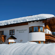 Haus Billovits im Winter