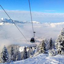 Skifahren am Unterberg