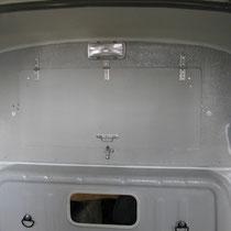Placard sur cabine sous rehausse polyester