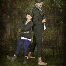 Ab heute sind wir Mitglieder der Blohm- und Donner-Karlsson-Bande! - Foto Paintpictures - Modelmitstreiter Dieter Schumann - Bearbeitung Susanne Jeroma