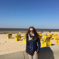 Nordsee mit seinen berühmten Strandkörben