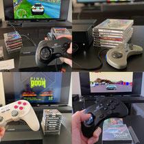 Ob Sega Saturn, PSOne oder Sega Mega CD, das Polymega schluckt alles.
