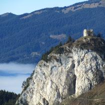 Burg Falkenstein die höchstgelegene Burg Deutschlands