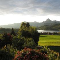 Ausblick vom Hof-Hinteregg