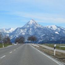 Von Pfronten nach Weißensee
