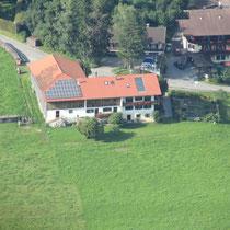 Hof-Hinteregg von oben