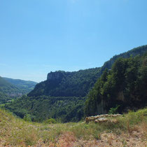 Panorama à proximité de la grotte de Cerdon - gite de tres bayard - saint claude - jura