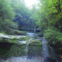 Cascade de la pissevieille - gite de tres bayard - saint claude - jura