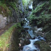 L'Abime et ses gorges - gite de tres bayard - saint claude - jura