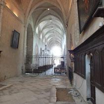 L'abbaye de Baume les messieurs - gite de tres bayard - saint claude - jura