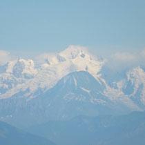 Panorama sur les alpes - gite de tres bayard - saint claude - jura