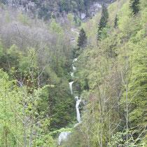 Cascade du Fulmen - gite de tres bayard - saint claude - jura