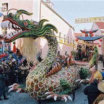 Chinesenfasching in Dietfurt: Kaiserdrache