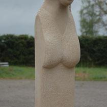 Versunken, Sandstein, 90 x 30 x 30 cm, 2010