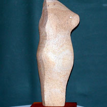 Torso, Sandstein, 70 x 27 x 28 cm, 2009