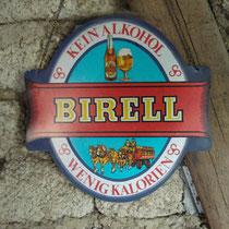 Kunststoffschild mit Aufhänger Birell