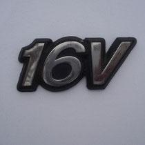 Typenschild 16V