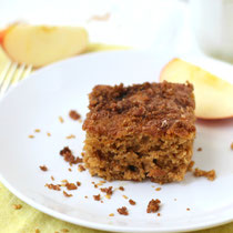 spiced apple cardamom coffee cake recipe
